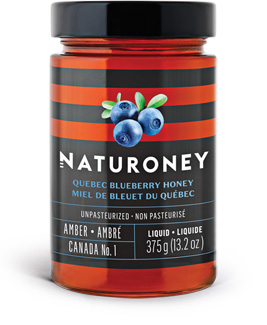 Quebec blueberry honey